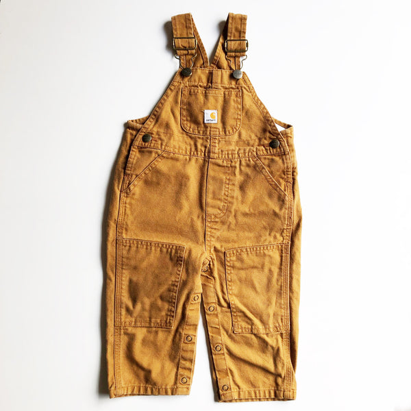 Carhartt Vintage Overalls size 12-18 months