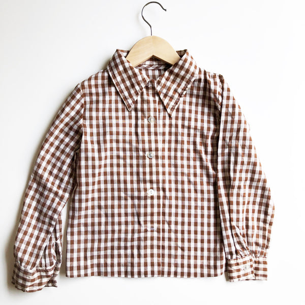 Little Gingham Shirt size 2-3