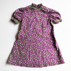 Pretty Ditsy Smocked Dress size 2-3