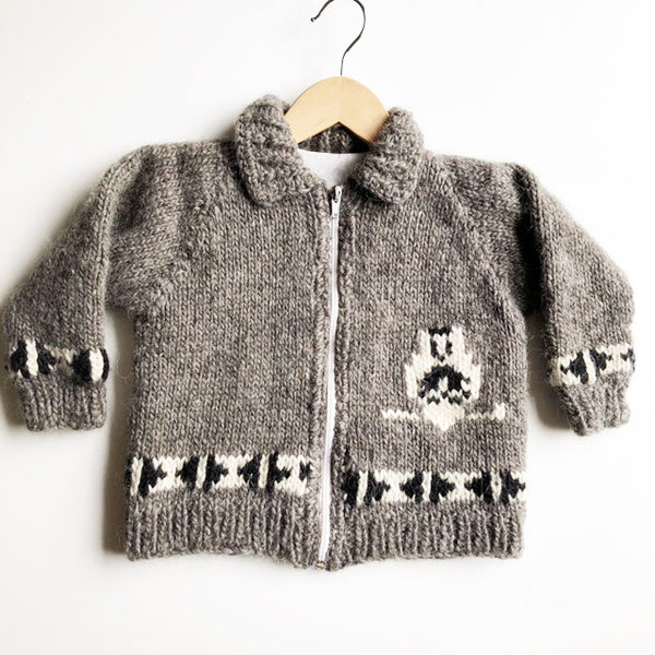 Cowichan Hand Knit sweater size 2-3