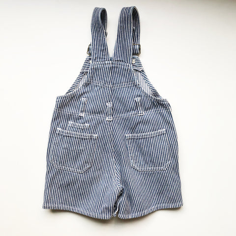 Hickory Stripe Preloved Romper size 18 months