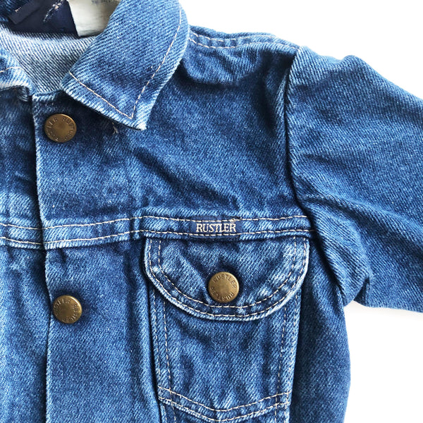 Hustler Preloved Denim Jacket size 12-18 months