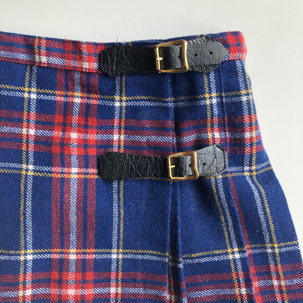 The Sweetest Little Plaid skirt size 1-2