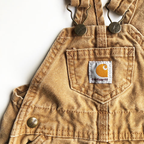 Carhartt Preloved Overalls size 18 months