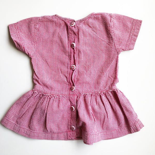 Little Gingham dress size 12 months