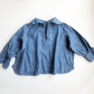 Little Chambray shirt size 12-18 months