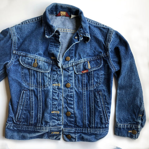 Lee Preloved Denim Jacket size 10
