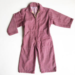 Twill Workwear Playsuit size 2