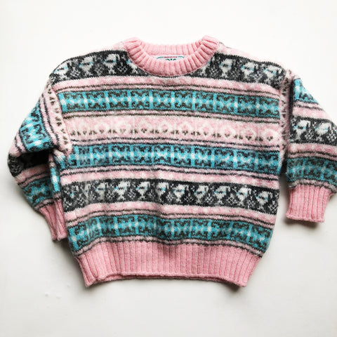 Sweet Fair Isle Sweater size 18-24 months