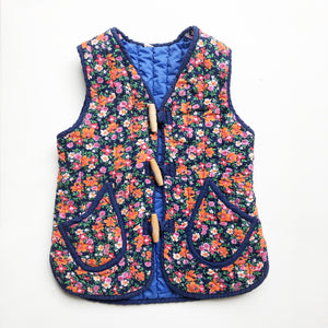 The Sweetest Quilted Ditsy Vest size 2