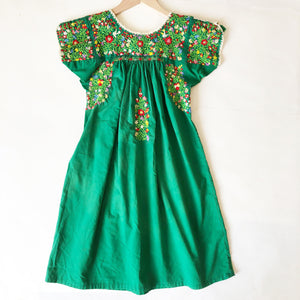 Amazing Embroidered Oaxacan Dress size 7-8