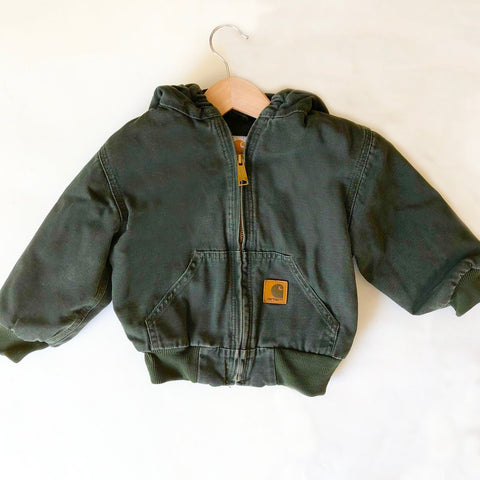 Carhartt Preloved Hooded Jacket size 3