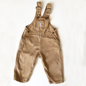 Carhartt Overalls in Caramel size 2