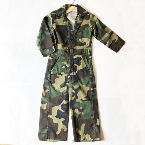 Camouflage Playsuit size 5-6