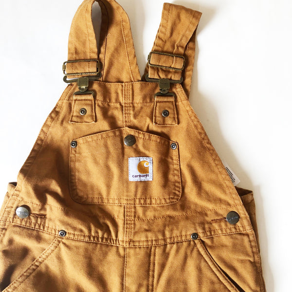 Carhartt Lined Overalls size 5