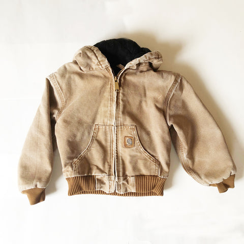 Carhartt Vintage Hooded Zip Jacket size 3