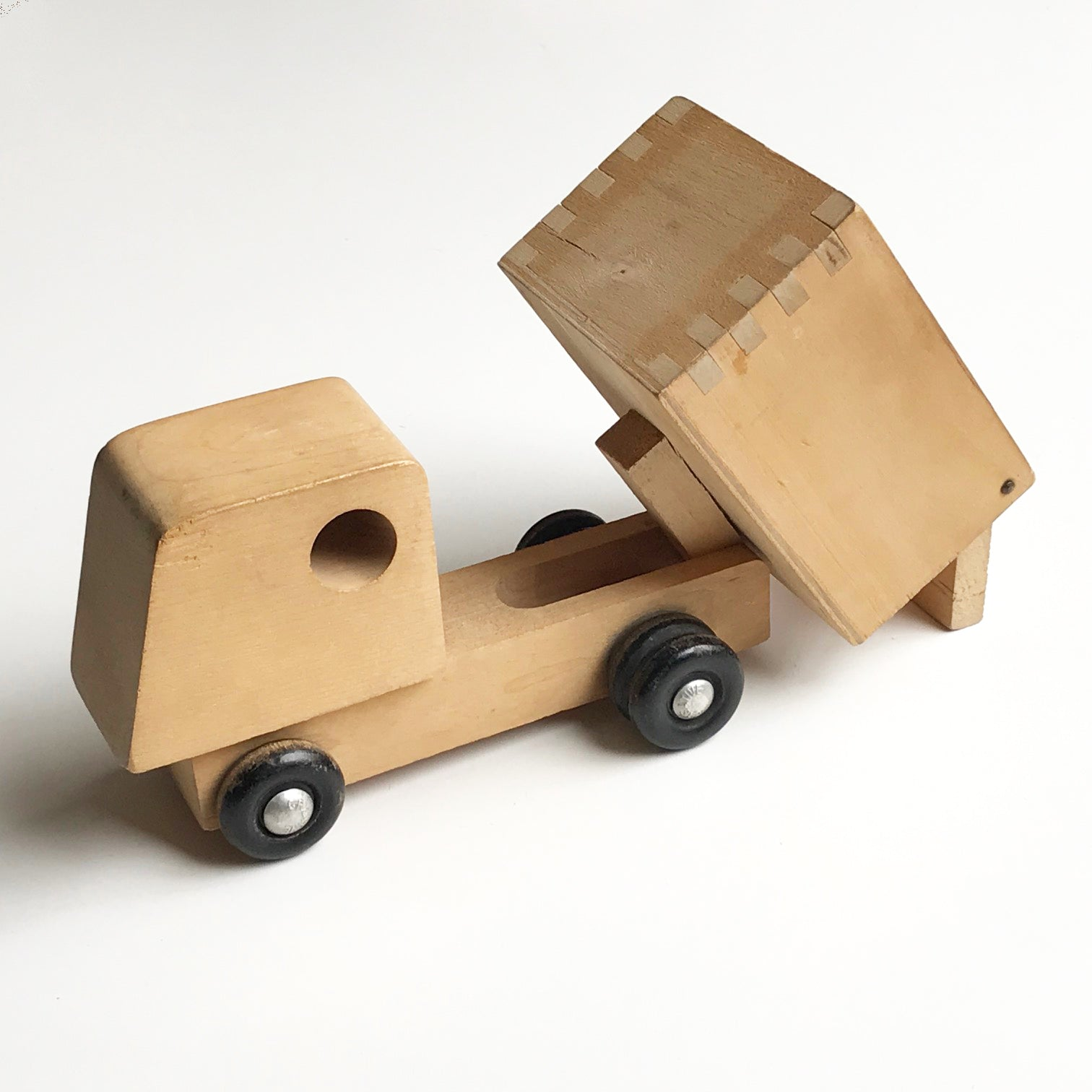 Creative Playthings Wooden Dump Truck