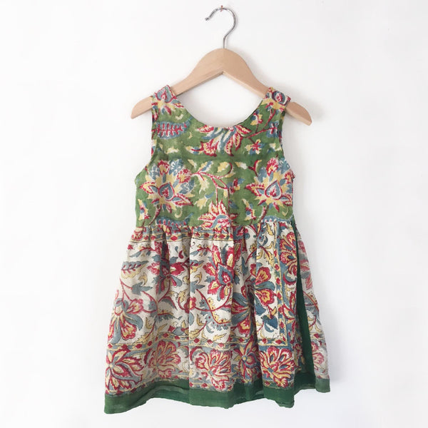 India blockprint dress size 4