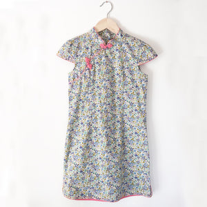 Cheongsam liberty print dress size 6-7
