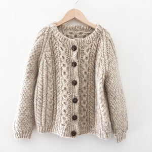 Cable knit cardigan size 10-12