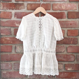 Victorian whitework dress size 2-3