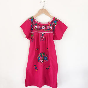 Oaxacan embroidered dress size 7-8