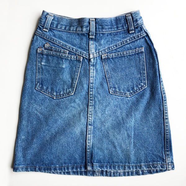 Denim Preloved skirt Size 8-10