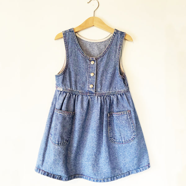 Lee Little Overall Dress size 4-5