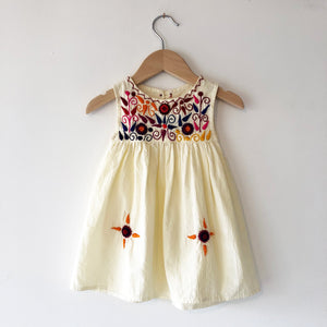 Oaxacan Embroidery Tank dress size 12 months