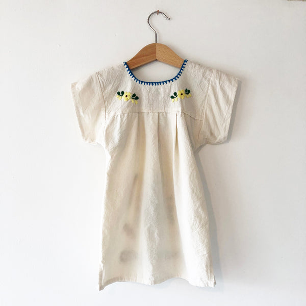 Oaxacan Embroidered peasant Dress size 2-3