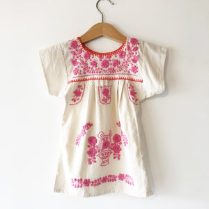 Oaxacan Embroidered Dress size 12 months