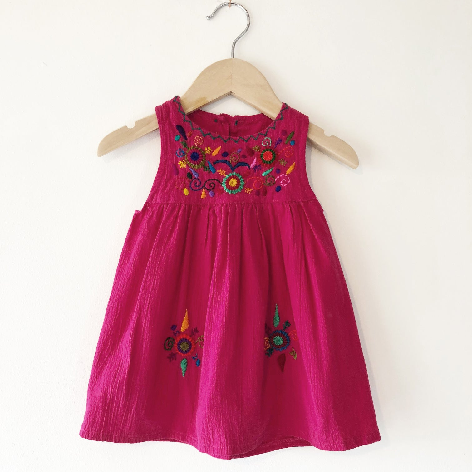 Oaxacan Embroidery Dress size 12 months