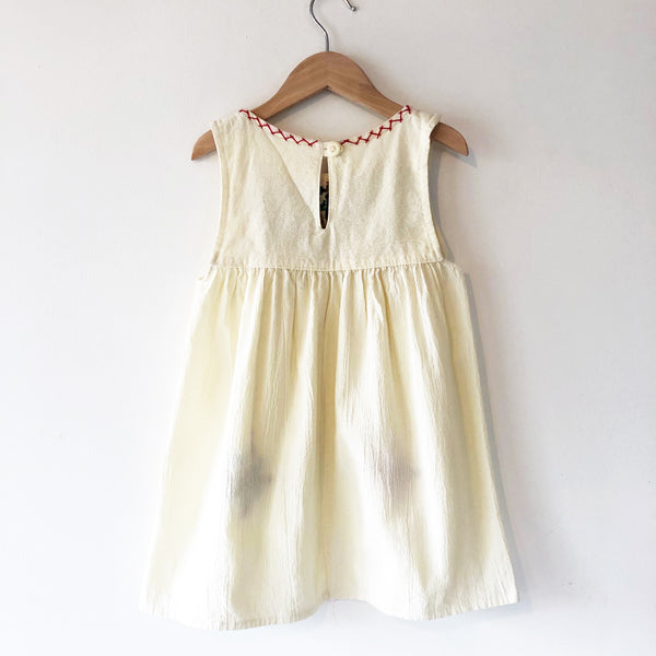 Oaxacan embroidery tank dress size 3-4
