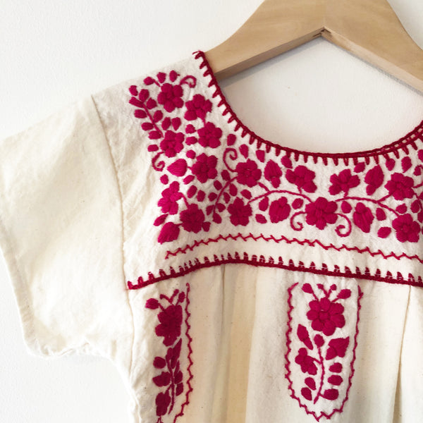 Oaxacan Embroidery dress size 3-4