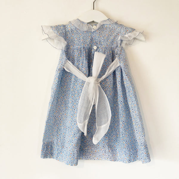 Baby Blue dress with Bloomers Size 6-12 months
