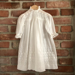 Victorian Whitework dress size 12 months