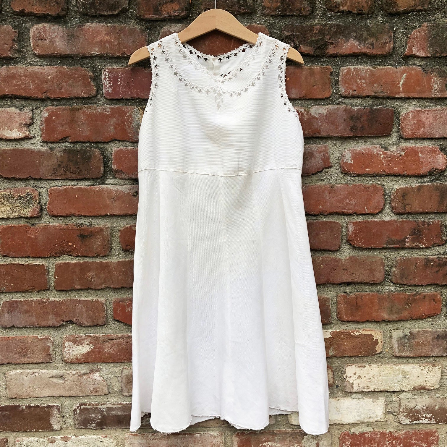 Victorian whitework dress size 8-9