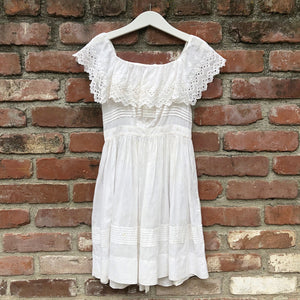 Unique Victorian Ruffle top dress size 4-5