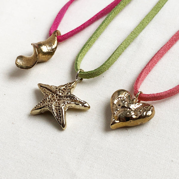 Brass Charm Necklaces