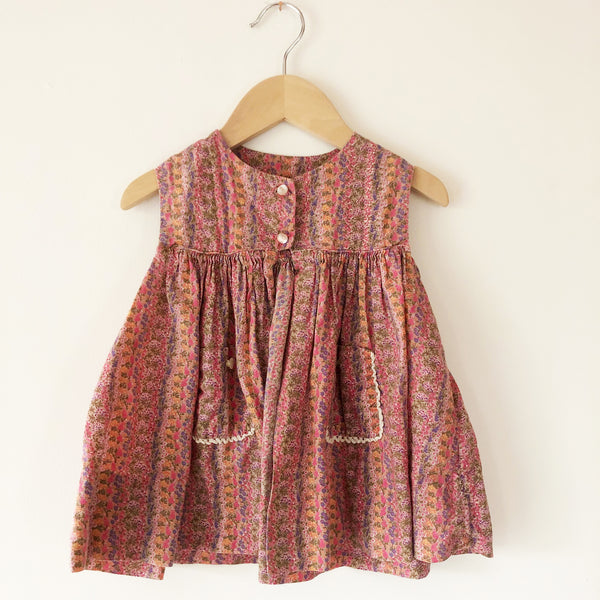 Flower Vine Dress size 1-2