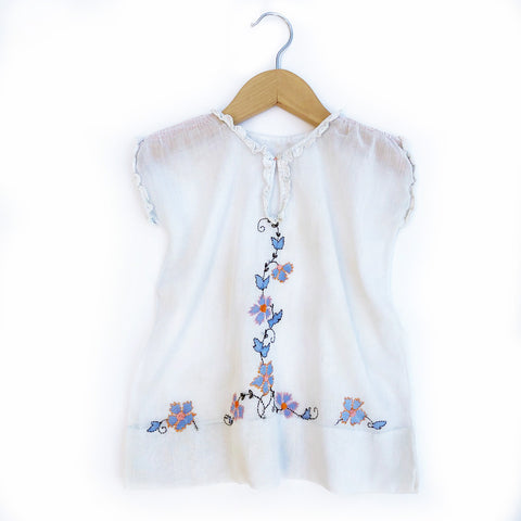 The Sweetest Baby Embroidered Dress Size 12-18 months