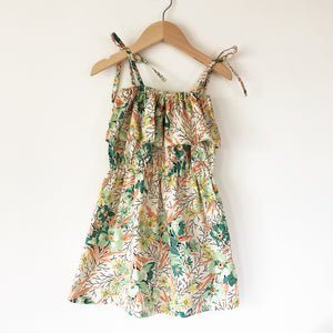Chloe Re-puposed Dress In 30's Floral size 2