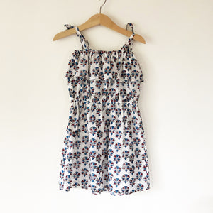 Chloe Re-purposed Dress in India block print