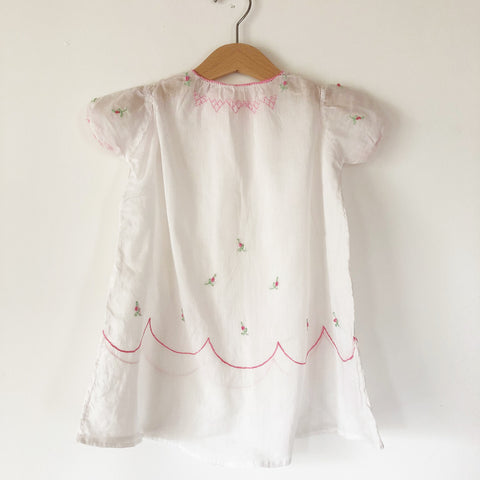 Baby Hand Embroidered Dress size 6-12 months