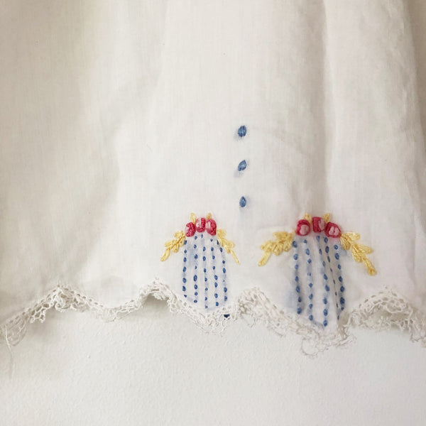 Baby Victorian Embroidered dress size 3-9 months