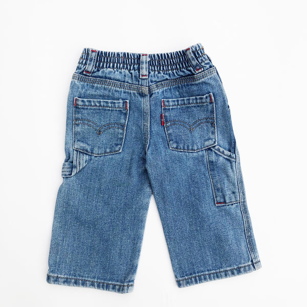 Vintage preloved Little Carpenter Levis size 9-12 months