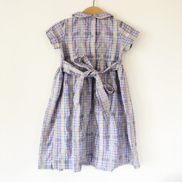 Vintage Laura Ashley Smocked Dress size 3-4