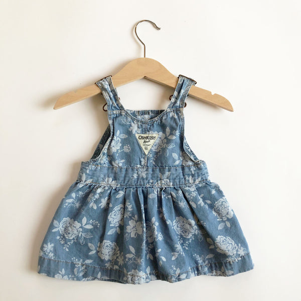 Little Vintage Osh Kosh Overall dress size 9-12 months