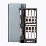 Nanch 24 in 1 Magnetic Screwdriver Kit for iPhone Mac book pro Eyeglasses and other tablets