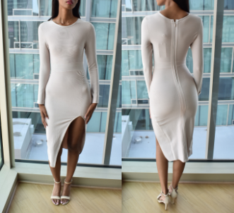 Long Sleeve Dress (S/M)